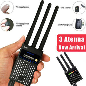 Wanzendetektor Signalfinder Bug RF Detector GPS Spy Finder Versteckte Kamera DHL