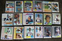 ROD CAREW 39 CARD LOT MLB BASEBALL 1970 - 85