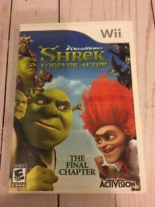 Shrek Forever After -Dream Works-  Nintendo- Wii Game
