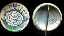 1920 Mother's Day Pin by Wm Dietz
