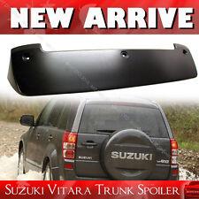 For Suzuki Grand Vitara 3rd SUV Unpaint ABS Roof Spoiler Wing 2014 GLS