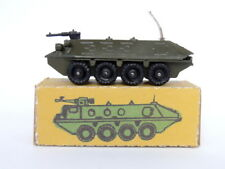Vintage USSR Soviet Army Military WW2 Cast Metal Armored Tank Tin Toy Carrier