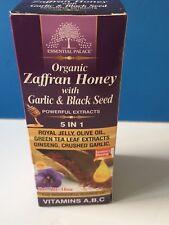 Organic Zaffran Honey With Garlic & Black Seed 5 In 1 BUY 2 GET THIRD 1 50% OFF