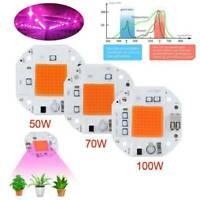 Driverless Full Spectrum LED COB Chip 50/70W/100W 110/220V Smart IC Spotlight CA