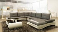Ledersofa XXL U Form Wohnzimmer Couch Sofa Big Ledercouch Sofas Couchen Ecksofa