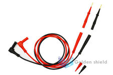 Fieldpiece ADLS2 - Deluxe Silicone Test Leads (Gold-plated probe)