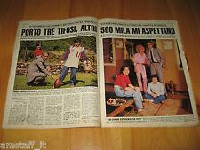 OGGI 1983/22=ROBERTO BETTEGA JUVENTUS=CLIPPING RITAGLIO PHOTO FOTO=