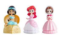Bandai Disney Princess Capchara Heroine Doll 3 Figure Jasmine Belle set 3 pcs