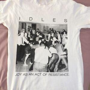 Idles Joy As an Act of Resistance T-shirt arctic monkeys Fontaines DC vinyl cd W
