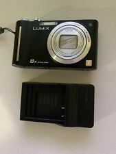 Panasonic Lumix DMC-ZR1 Digital Camera 8x 12MP Optical Zoom With USB Charger