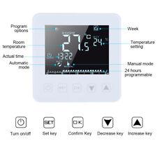 16A LCD Digital Programable Termostato Calefacción Eléctrica Control Temperatura