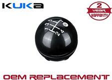 55344048 5 Speed Gloss Black Gear Shift Knob Kit For Fiat 500 500c