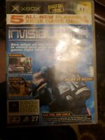 Official Xbox Magazine Video Game Demo Disc #27 Deusex Invisible War Jan 2004
