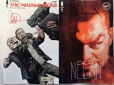 IMAGE COMICS THE WALKING DEAD #186 REG & SIENKIEWICZ SIGNED BY CHARLIE ADLARD