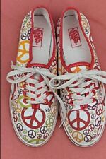 VANS Ladies peace canvas pump Size UK 4 US 6.5