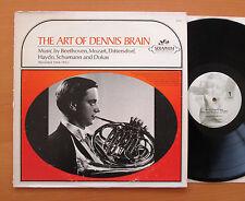 The Art Of Dennis Brain Beethoven Mozart Haydn etc Angel Seraphim 60040 NM/VG