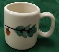 HARTSTONE POTTERY: WOODLAWN: 5 DEMITASSE MUGS
