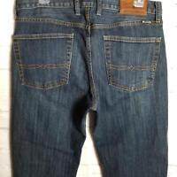 Lucky Men's 361 Vintage Straight Jeans Size 32X32 Zip Fly Dark Wash Denim
