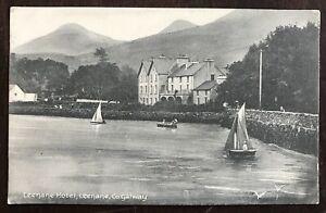 Leenane Hotel. Leenane. County Galway. Postcard. Ireland.