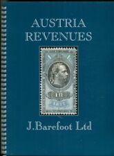 Austria 2019 Colour New Barefoot Revenue Fiscal Stamp Catalogue(180  Pages