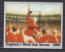 s6566) ANTIGUA 1993 MNH** World Cup Football'90 - Coppa del Mondo Calcio S/S x2