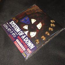 System of a Down Hypnotize (Sony Music 2005) Digipak JAPAN OBI CD + DVD