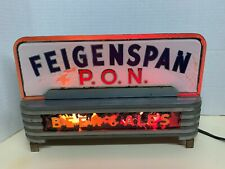 Rare Feigenspan P.O.N. Art Deco Light-Up Neon Bar Counter Sign working order