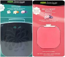 ASDA CHOSEN BY YOU DIFFUSER & REFILL IRIS &  SWEET PEONY GLADE COMPATIBLE