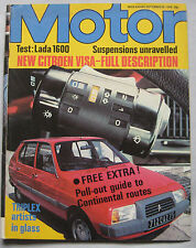 Motor magazine 30/9/1978 featuring Lada road test, Panther Six, Gordon Bennett