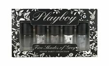 Playboy Five Shades Of Grey Velvet Party Collection Nail Polish Set!