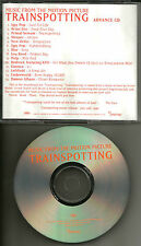 Trainspotting ADVNCE PROMO CD w/ NEW ORDER Blur BRIAN ENO Iggy Pop LOU REED Pulp