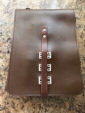 Vintage brown ramblers /walkers map reading document satchel bag