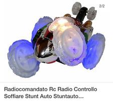 Macchinina radiocomandata rotante telecomandata 360°con luci a batterie