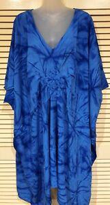Brand New  Kaftan top / Dress Grecian Style plus size fits 16-24 100cm length