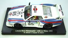 Fly car model GB34 LANCIA BETA MONTECARLO MARTINI 24hr Le Mans MIB 1/32 ranura de coche