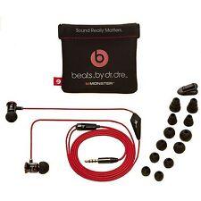 Genuine Monster Beats by DrDre iBeats In Ear Headphones Earphone Black FOR APPLE