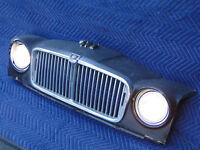 Jaguar Grille Wall Hanger Repurposed Car Art Game Room Bar Lounge Garage Lamp