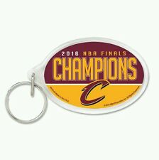 CLEVELAND CAVALIERS 2016 NBA CHAMPIONS ACRYLIC KEY RING 2 SIDED GRAPHICS DURABLE