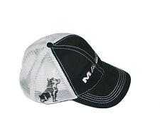 Mack Trucks Black & Grey Bulldog Snapback Mesh Cap/Hat