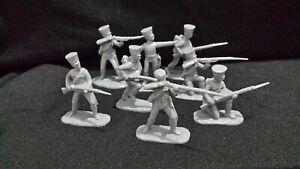 ARMIES IN PLASTIC NAPOLEONIC WARS BRITISH & PRUSSIANS 32 FIGURE LOT B205.