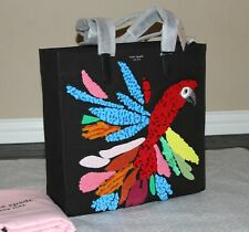 💚 Kate Spade Parrot Kitt Embellished XL North South Tote Bag Shoulder Purse NWT