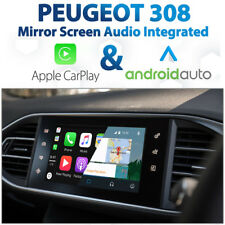 Peugeot 308 Factory Audio Integrated Apple CarPlay & Android Auto retrofit Kit