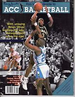 1990 Fan's Guide to ACC Basketball magazine, Barry Oliver, Georgia Tech