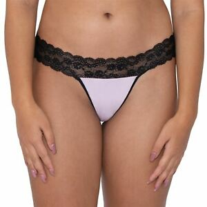 Curvy Kate Lingerie Twice the Fun Reversible Thong/Knickers Black/Pink 024200