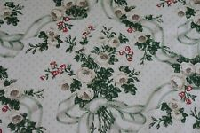 SCALAMANDRE Fabric Newport Rose Historic Collection Gray White SOLD BY THE YARD