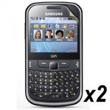 Pack 2 Films Protection d'Ecran pour Samsung Chat 335