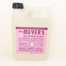 Mrs. Meyer's Clean Day Aromatherapy Peony Scent  Hand Soap Refill 33 oz  Sealed
