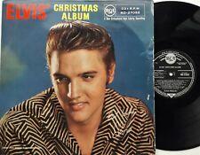 Elvis Presley - Elvis' Christmas Album LP 1957 1st UK Press 4 Pictures RCA 27052