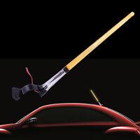 34cm Car 12V Amber Flag Pole LED Light Signal AM FM Aerial Antenna Decoration