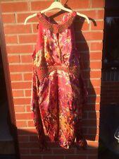 Ladies Julien Macdonald Satin Tulip Dress 16 BNWT